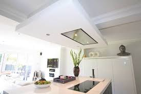 kitchen island extractor black and white island kitchen