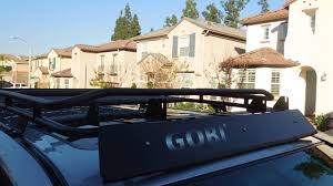 Baja Rack Fj Cruiser Ladder by Toyota 4runner Gobi Roof Rack Stealth Youtube