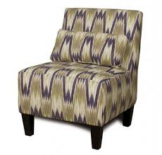 Printed Accent Chair Zebra Accent Chairs Animal Print Furniture Upholstered Armless