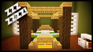 Minecraft How To Make A Bed Minecraft How To Make A Realistic Usable Bed Youtube