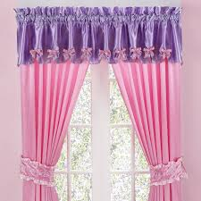 Pink And Purple Curtains Different Curtain Design Patterns Home Designing