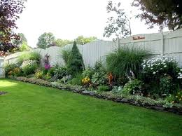 Privacy Fence Ideas For Backyard Landscaping Along Fence Ideas Backyard Privacy Fence Landscaping