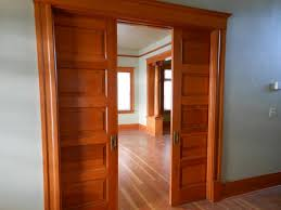 Two Panel Solid Wood Interior Doors Interior Double Pocket Doors Inspiration Ideas 26987 Design Ideas