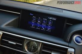 lexus is300h review 2013 2013 lexus is 300h f sport lcd interface