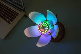 3d print this blooming flower night light make