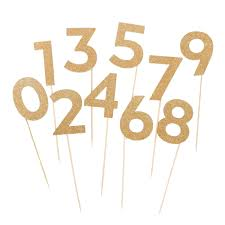 cake topper numbers birthday 1 cake topper girl gold glitter gold number 1 cake