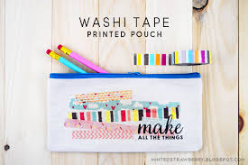 diy washi decorated pouch washi crafts book review