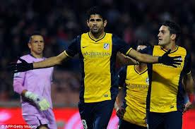 la liga table 2016 17 top scorer diego costa overtakes cristiano ronaldo as la liga top scorer