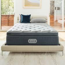 memory foam bed pillows simmons beautyrest beautysleep 13 5 plush pillow top cooling gel