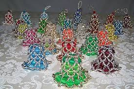 beaded ornaments collection on ebay