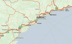 map of antibes antibes weather forecast