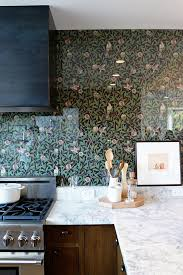 Glass Backsplash In Kitchen Glass Backsplash Ideas For The Kitchen Apartment Therapy
