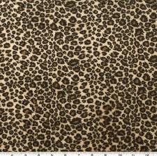 leopard fabric shannon minky cuddle cheetah tan brown discount designer fabric