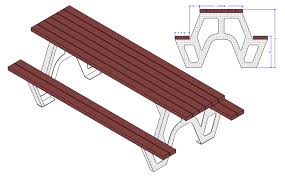 diamond plate aluminum u0026 composite wood picnic table