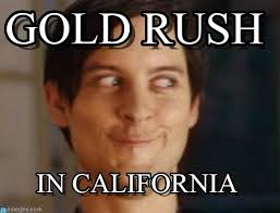 Rush Meme - gold rush spiderman peter parker meme on memegen