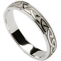 celtic mens wedding bands wedding ring celtic knotwork mens wedding band at