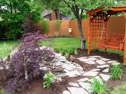 Simple Landscape Ideas by Fascinating Backyard Garden Designs Simple Makeovers Inexpensive