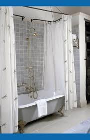 Inch Shower Curtain Rod - bathroom wrap around shower curtain rodshome design ideas curtains