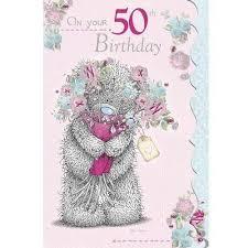 50th birthday card boofle happy birthday greeting cards