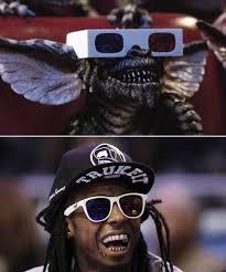 Lil Wayne Meme - funny meme pictures lil wayne vs gremlins memes