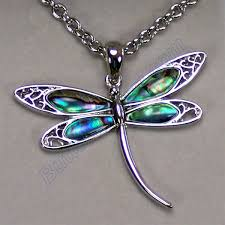 Unique Dragonfly Gifts Wild Pearle Elegant Dragonfly Necklace
