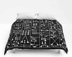 Tribal Pattern Comforter Aztec Duvet Etsy