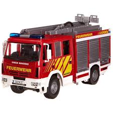 buy dickie toys iveco magirus fire engine online at toy universe