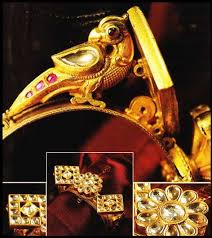 this 300 year bracelet or kada is usually worn by the