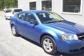 2008 blue dodge avenger 2008 dodge avenger sxt 4dr sedan in belvidere nj motors 46