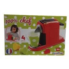 cuisine enfant ecoiffier ecoiffier jouet mini cafetière expresso pour enfant 2175