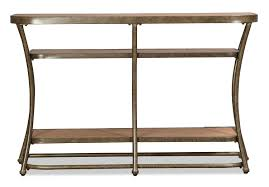 Distressed Sofa Table by Zamora Sofa Table Distressed Pine And Bronze Levin Furniture