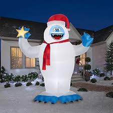Abominable Snowman Outdoor Christmas Decorations by Abominable Snowman Christmas Decorations For Indoors And Outdoors