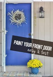 pbjstories how to paint your front door easy and fast
