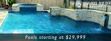 Backyard Pools Prices Your Pool Builder Montgomery Custom Pools U0026 Spas Pool