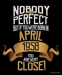 birthday gift 60 year 1958 april birthday gift 60 year bday by blazesavings redbubble