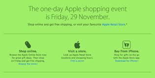 black friday and apple sneak peek of apple u0027s black friday sale the iphone faq
