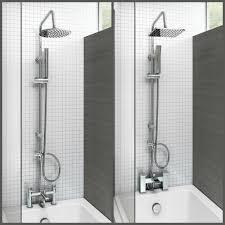 mixer tap shower head ebay bath shower mixer thermostatic valve tap dual square head rail hose handheld