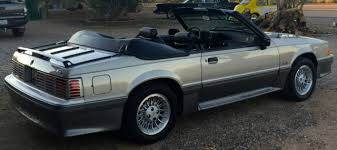 1990 mustang gt convertible value ford mustang convertible 1990 silver for sale 1facp45e7lf185689