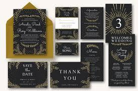new years wedding invitations new years wedding invitation suite invitation templates