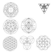 sacred geometry symbols and signes vector illustration hipster