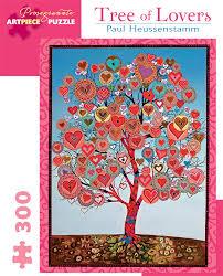 paul heussenstamm tree of 300 jigsaw puzzle