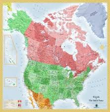 Political Map Of Canada Map Of Canada Usa You Can See A Map Of Many Places On The List