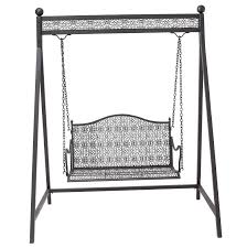 metal porch swing stand home design ideas
