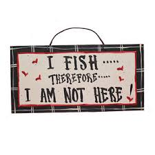 themed signs fishing themed wooden signs american made
