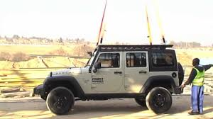 jeep snorkel exhaust new jeep roof rack youtube