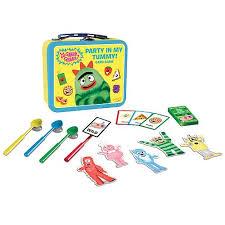 yo gabba gabba party tummy lunch box game fundex yo
