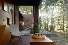 Nature Concept In Interior Design Wood House Concept Harmony With Nature