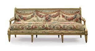 canape louis xvi a louis xvi giltwood canape by claude ii sene circa 1780