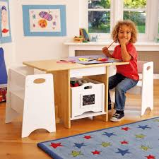 Kids Table With Storage by White U0026 Natural Play Table Set All Furniture Furniture Gltc