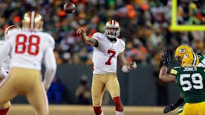 Packers 49ers Meme - 49ers colin kaepernick runs over packers playoff hopes nfl